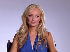 Shera Bechard's pussy is all wet and nipples are so hard