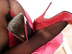 Sharon nylons video/Sharon