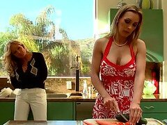 Kinky Lesbian Blondes Tanya Tate and Tyler Faith Have Some Bondage Fun