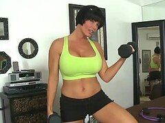 Brunette Milf Shay Fox Loves Masturbating After Exercising