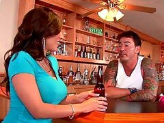 Big Boobed Barbara Takes The Barman After Hours