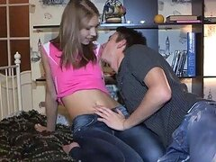 Casual Teen Sex  Fucking with pants on