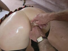 Horny babe getting drilled and pounded