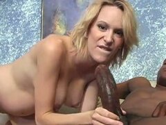 Pregnant bitch fucked hard by black cock