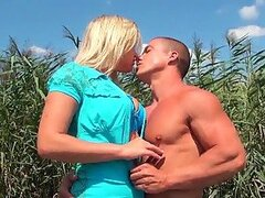 Busty Blonde Sunny Diamond Having Outdoor Sex on a Boat