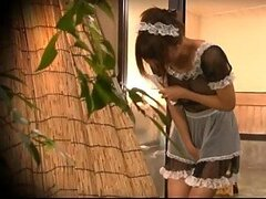 Sexy Asian Maid...