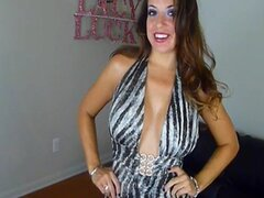 JOI Beautiful New Domme in Little Dress - Huge Tits