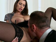 David Perry is fucking sexy teacher Sensual Jane