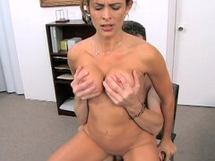BangBros Goddess Monique Fuentes gets fucked in an office