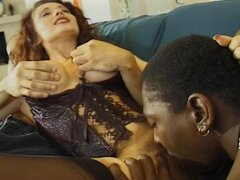 Divine honey Erika Bella gets some huge black cocks