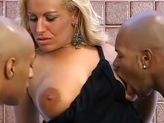 Brazilian in sultry big cock DP