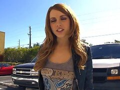 Lexi Belle Enjoys Some Steamy Parking Lot Sex