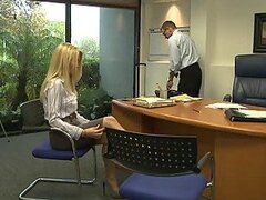 Blonde Slut Lexi Swallows Gets Fired For Fucking In The Office
