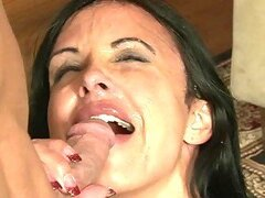 The best compilation of videos where girls get cumshots on their faces