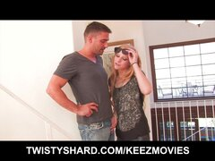 Horny blonde wife will do anything for her dream house