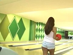 Stunning Latina Ice La Fox Gets A Pounding In A Bowling Alley