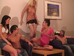 College Hot Broads & Ripped Dudes Have Orgy to Celebrate A Birthday