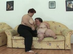 Midget love for these two lesbians eating pussy
