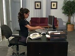 Bubble Butt Latina Yurizan Beltran Titty Fucking In The Office