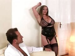 Constance has big tits and a horny pussy and lucky George gets to enjoy both in this hot, lusty and very busty hardcore action. Make sure you see Constance enjoy a long, hard dick!