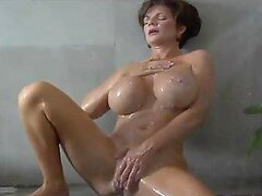 Mature Woman With Big Tits Tries Anal Sex With A Huge Cock.