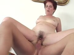 Terezka gets her hairy pussy fisted and hotly fucked