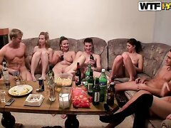Hot college fucking with Czech chicks 6/Kristene, Dana, Janet, Sonja. Part 4