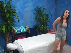 Hidden Massage Room Seduction With Jenna