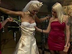 Annoying Blonde Bride...