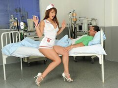 Naughty Nurse Eliska is more than helpful