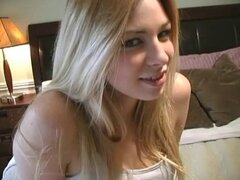 Amazing casting from pretty blonde