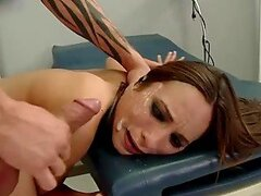 Young Skinny Babe Forced To Take Dick & Cumshot