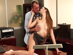 Great Office fuck with Allie