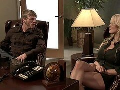 Busty Blonde Fucking In The Therapist Office