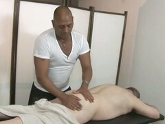 Gay Daddies Froilan And Arnaud Fuck After A Massage