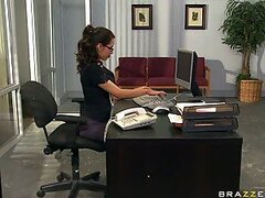 Sexy Office Slut Yurizan Beltran Shows Her Hot Upskirt and Gets Fucked