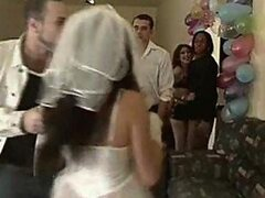 Latin bride groupsex in bachelor party
