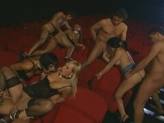 Groupsex In Adult Cinema