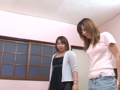 Jap milfs in a kinky connivance