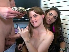 Hot Babe Gets Fucked At A Tattoo Shop