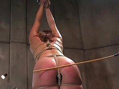 Blonde Hottie gets a Good Spanking Session