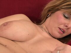 Stacked blonde milf Maxia embarks on a hot sexual adventure with a big black shaft