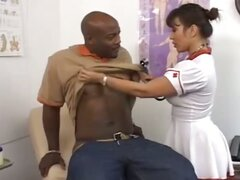 Naughty Nurse Ava Devine Gets Her Semen Sample