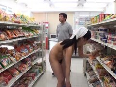 Naughty Sayuki Kanno gets fucked hard in a supermarket
