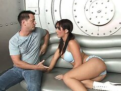 Jayden James banging in futuristic scenery