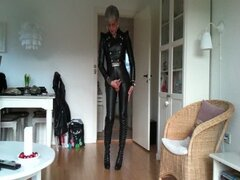 sissy_favorite_sexy_leather_outfit