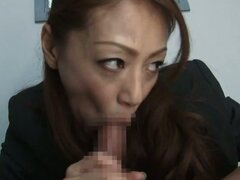 Big Titted Mature Sanae Asou gets balled in jail