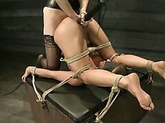 Lesbian Slave Training Ariel X YL Featured Trainer Bobbi Starr