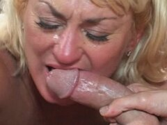Horny MILF Teaches Ger Son's Friend