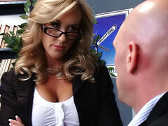 Teacher Brandi Love fuck and titjob fun